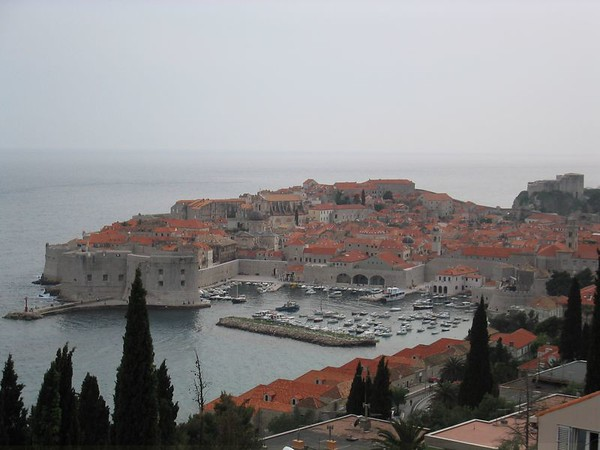 View of Old Town Dubrovnik from outside our room.jpg