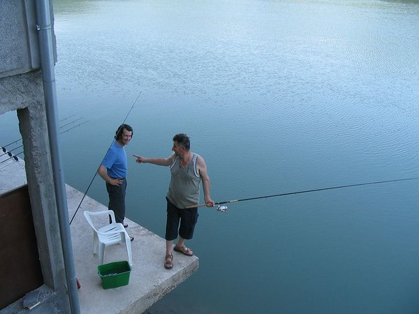 Mihajlo commanding Dave to fish.jpg