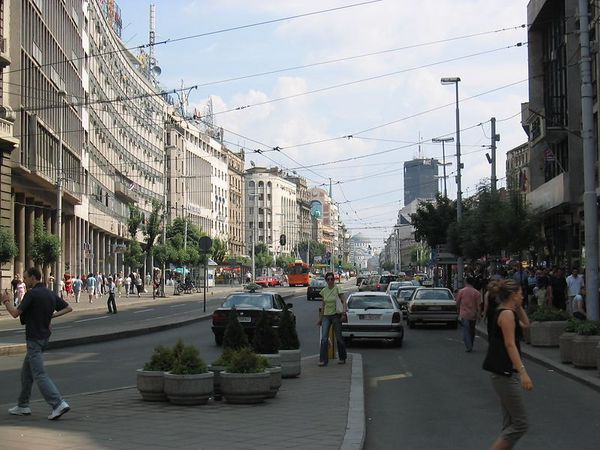 a little hustle bustle in central Belgrade.jpg