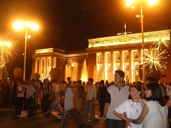 independence day, Dushanbe