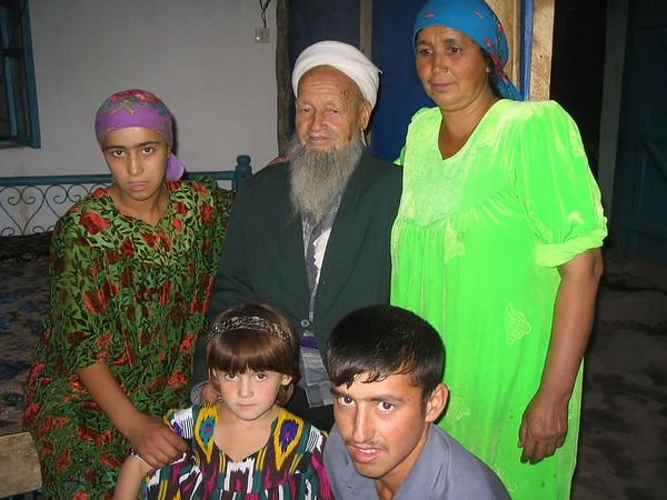 our Tajik family