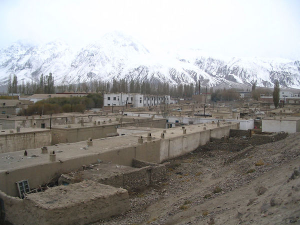 view over Tashkurgan