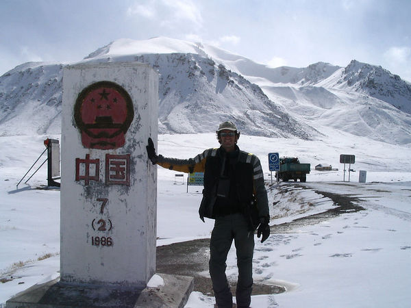 top of Khunjerab Pass