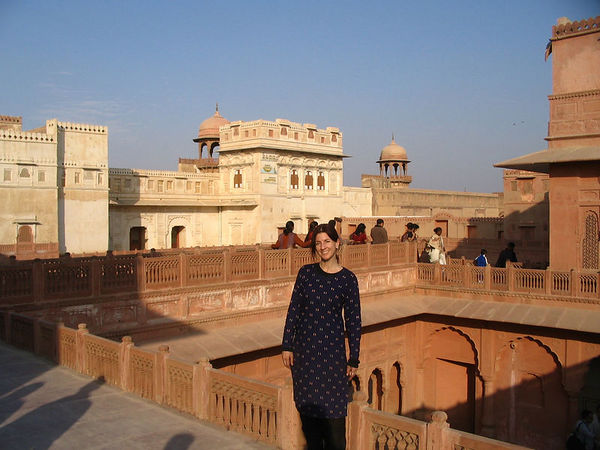 inside Bikaner fort