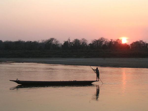 river at Sauraha