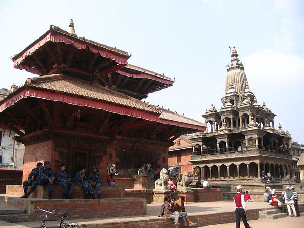soldiers at Patan