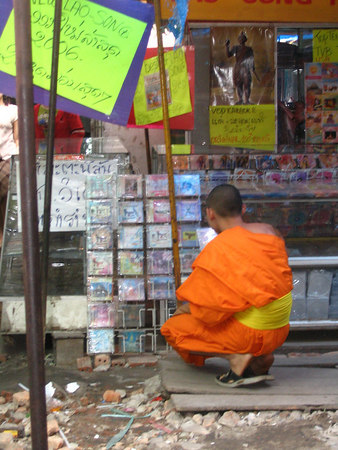 monk shopping