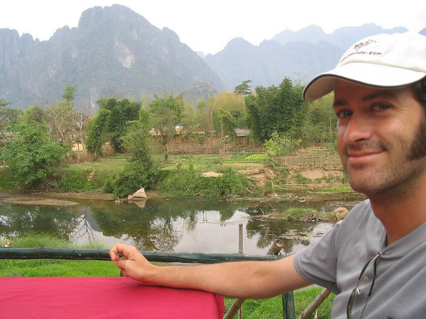 breakfast in Vang Vieng