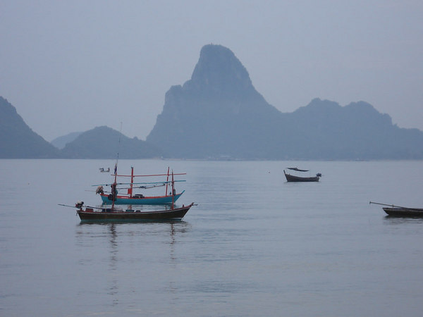 Prachuap Khiri Khan beach view