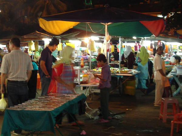 night market, Kota Bharu