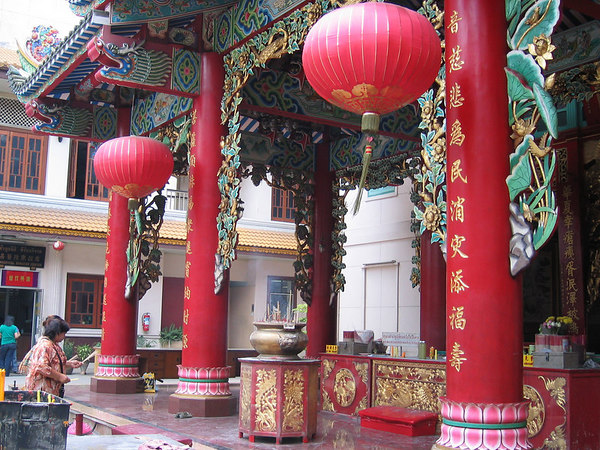 Chinatown temple